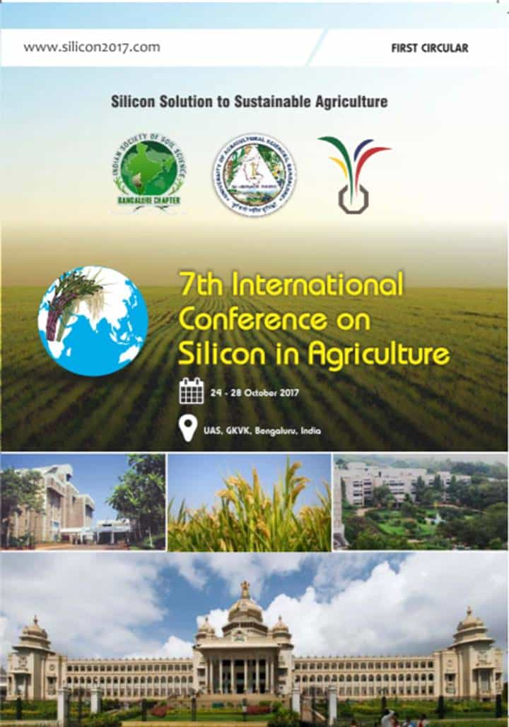 Fertilizantes y Abonos TradiRED - 7th International Conference on Silicon Agriculture